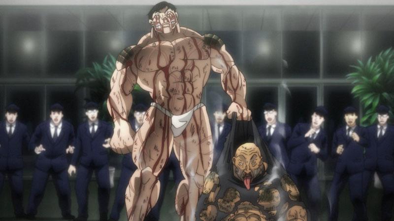 Боец Баки 4 сезон аниме картинка