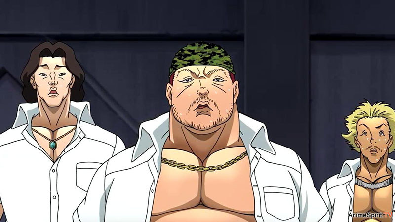 Боец Баки 4 сезон кадр из аниме