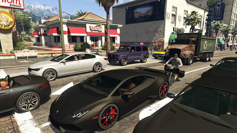 GTA 6 кадр из игры