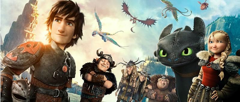 Как приручить дракона 4 кадр из мультфильма