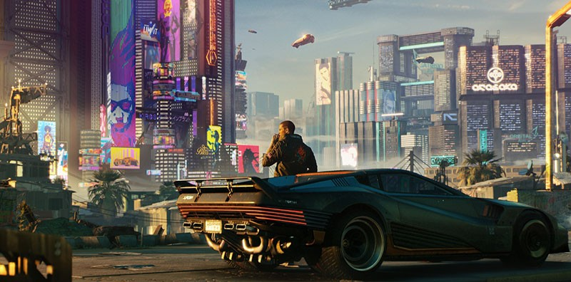 Cyberpunk (Киберпанк) 2077 игра картинка