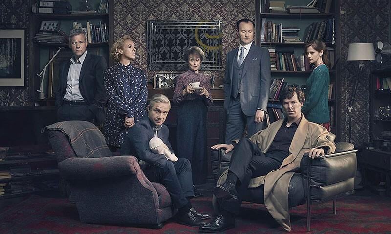 Шерлок 5 сезон кадр из сериала