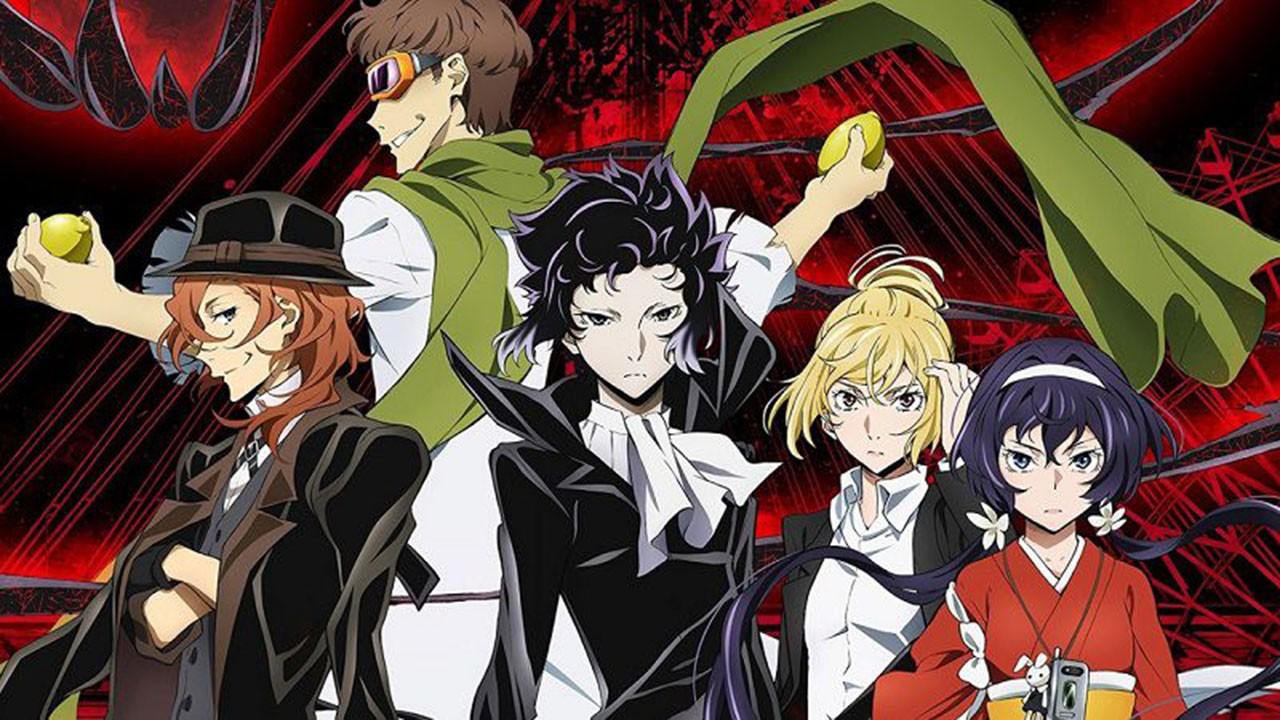 Великий из бродячих псов 4 сезон - дата выхода и трейлер аниме