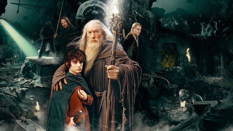 Властелин колец кадр из сериала