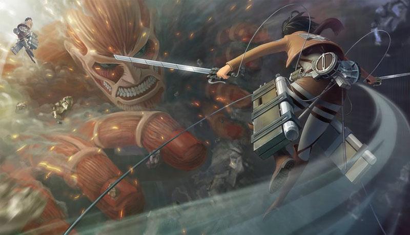 Атака титанов 4 сезон кадр из серии