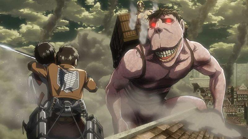 Атака титанов 4 сезон аниме картинка