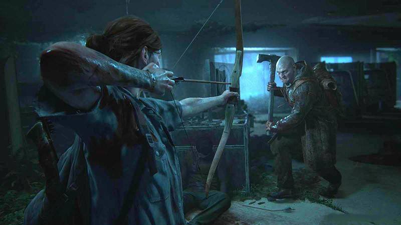 The Last of Us Part 2 кадр из игры
