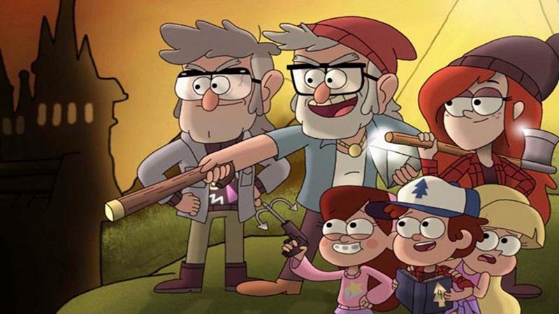 Гравити Фолз 2 сезон кадр из мультсериала