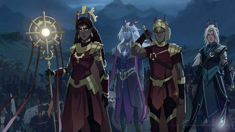 Принц драконов 3 сезон мультсериал картинка
