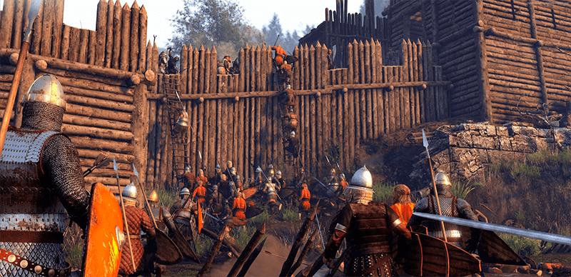 Mount & Blade II: Bannerlord кадр из игры