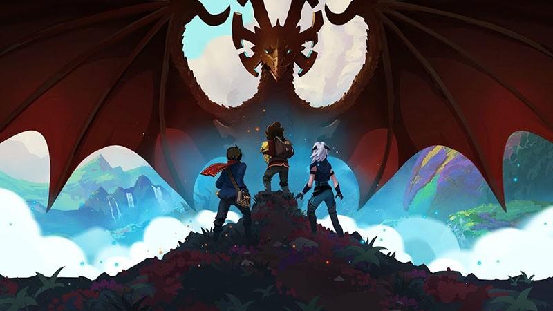 Принц драконов 3 сезон кадр из мультсериала