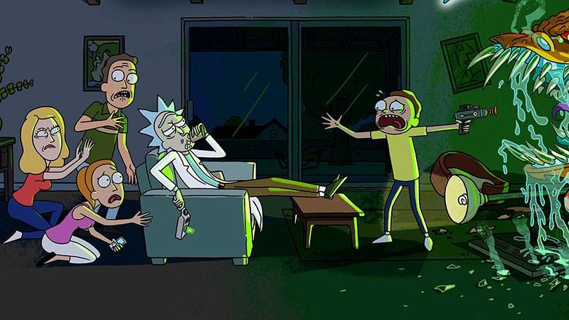 Рик и Морти 3 сезон мультсериал картинка