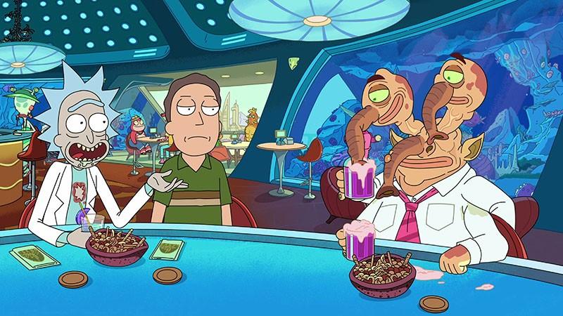 Рик и Морти 3 сезон кадр из мультсериала