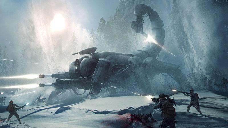 Wasteland 3 кадр кадр из игры