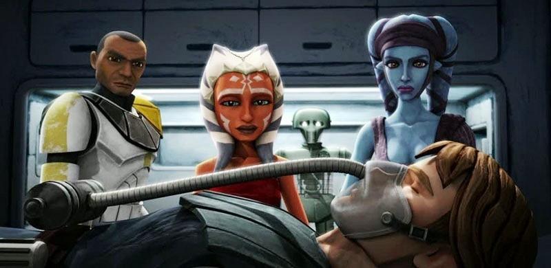 Звездные войны: Войны клонов 7 сезон  кадр из мультсериала