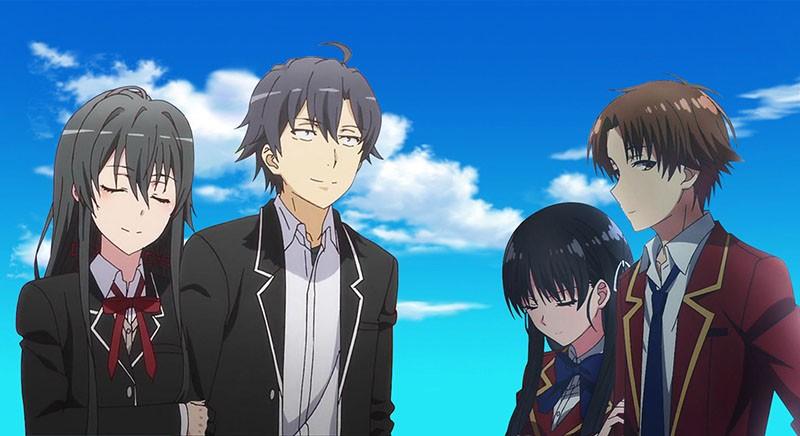 Добро пожаловать в класс превосходства 2 сезон аниме картинка