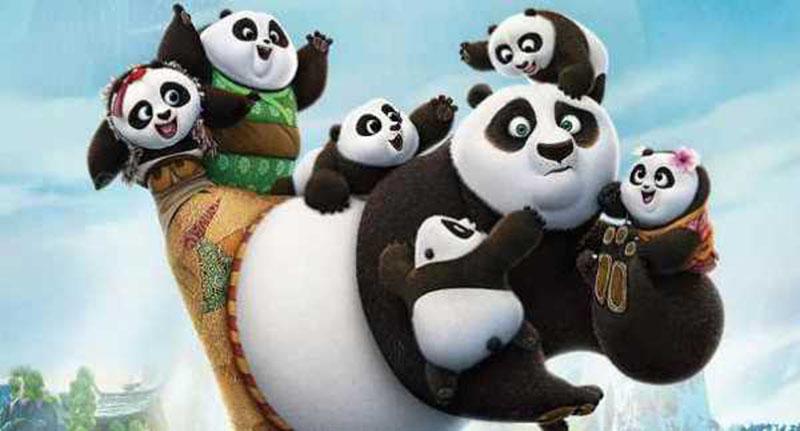 Кунг-фу Панда 4 мультфильм картинка