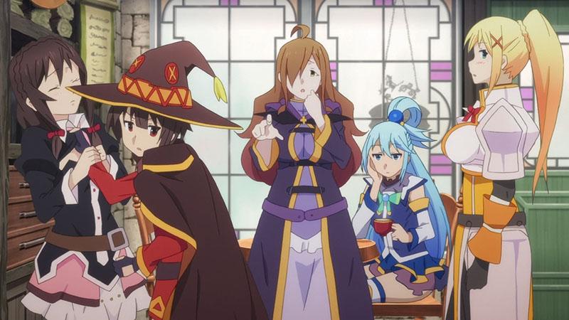 Коносуба 3 сезон аниме картинка