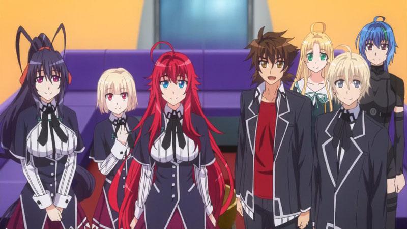 Демоны старшей школы 5 сезон кадр из аниме