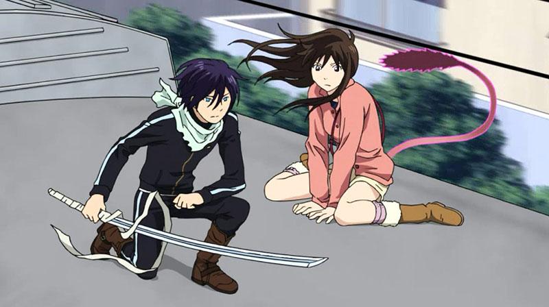 Бездомный бог 3 сезон кадр из аниме