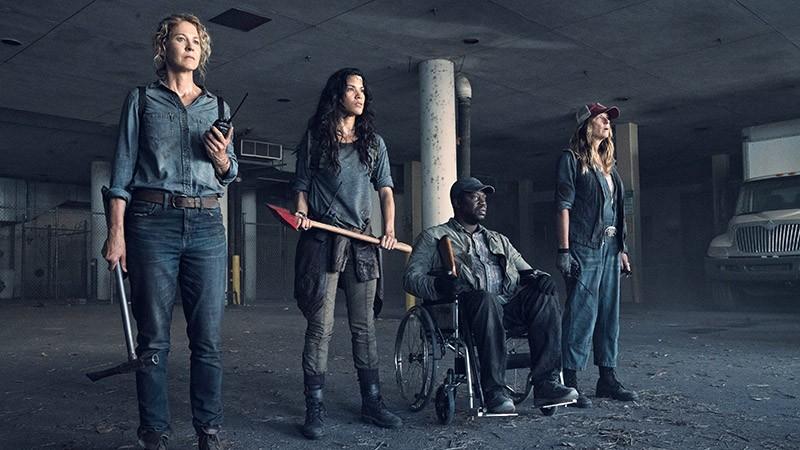 Бойтесь ходячих мертвецов 6 сезон кадр из серии