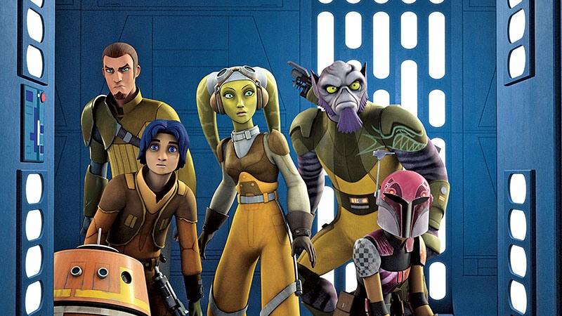 Звездные войны: Повстанцы 5 сезон кадр из мультсериала
