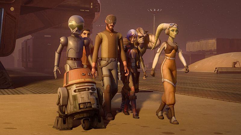 Будет ли выход Звездные войны: Повстанцы 5 сезон