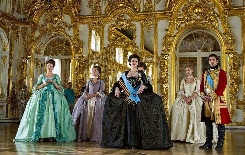 Екатерина 4 сезон кадр из 1 серии