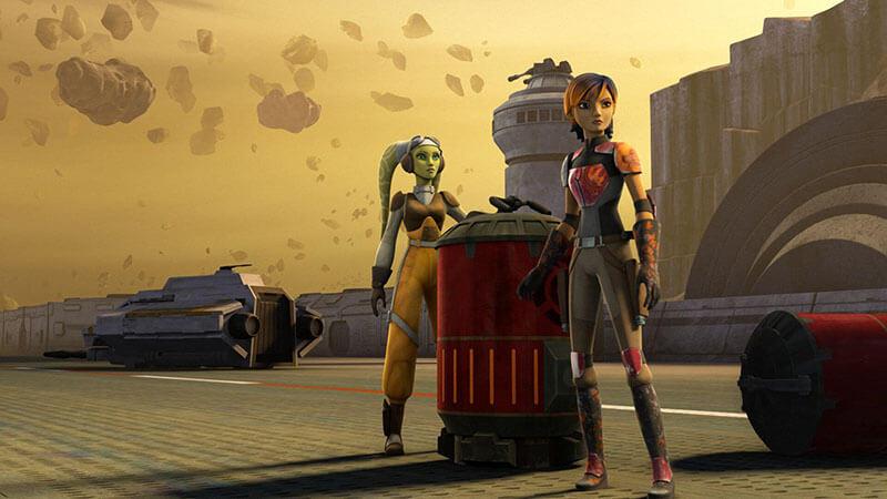 Когда точно выйдет мультсериал Звездные войны: Повстанцы 5 сезон
