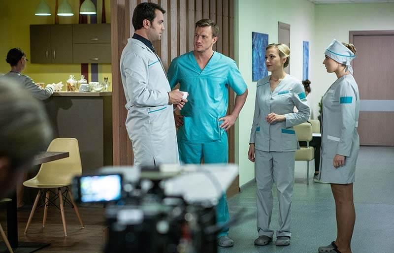 Женский доктор 5 сезон кадр из 1 серии