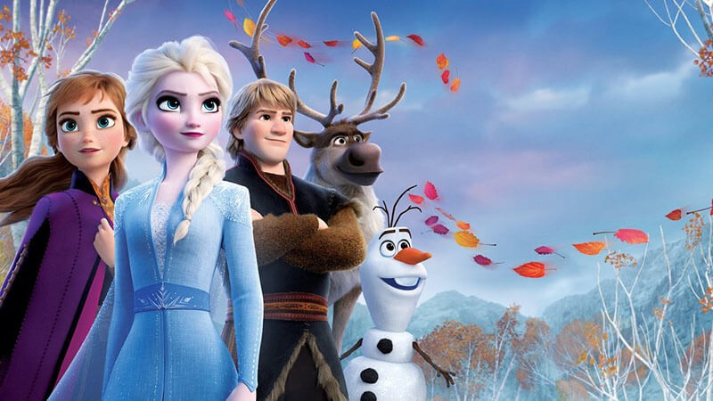 Холодное сердце 3 часть кадр из мультфильма