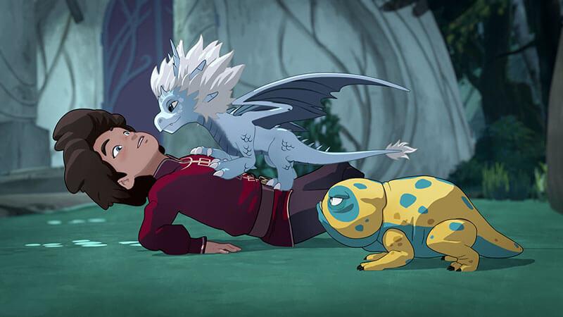 Принц дракон 4 сезон кадр из 1 серии