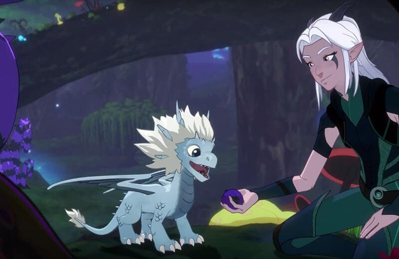 Когда точно выйдет мультсериал Принц дракон 4 сезон