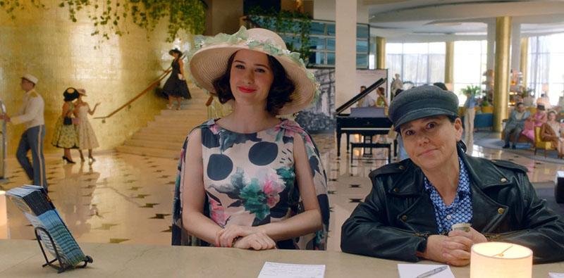 Удивительная миссис Мейзел 4 сезон кадр из 1 серии
