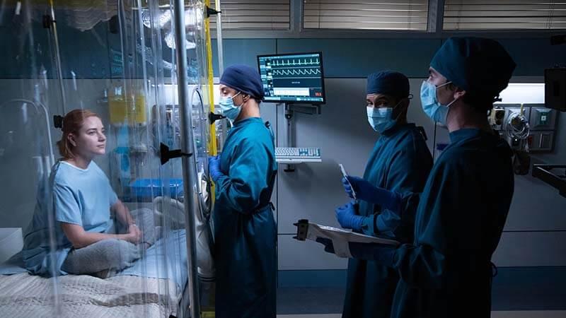 Дата выхода всех серий в России Хороший доктор 4 сезон