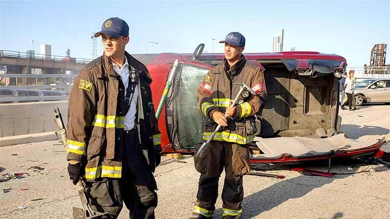 Будет ли выход сериал Пожарные Чикаго 9 сезон