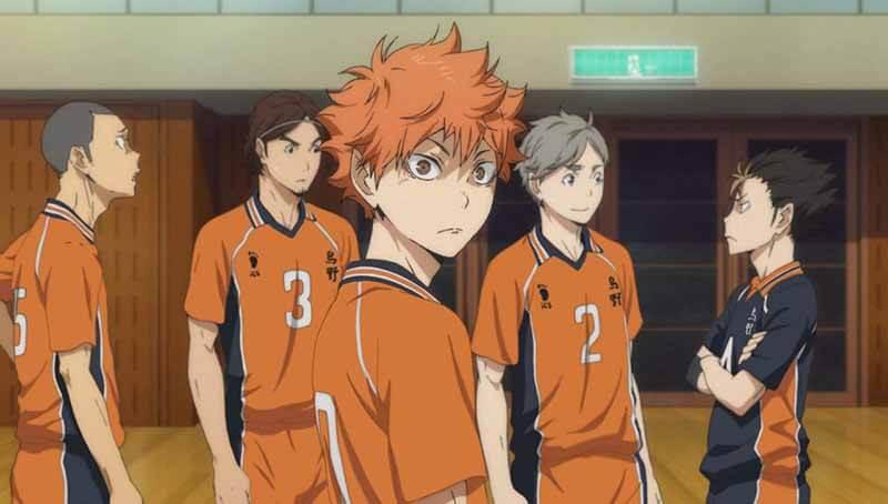 Дата выхода 14 серии в России аниме Волейбол 4 сезон