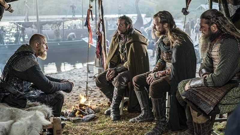 Дата точного выхода 11 серии в России Викинги 6 сезон