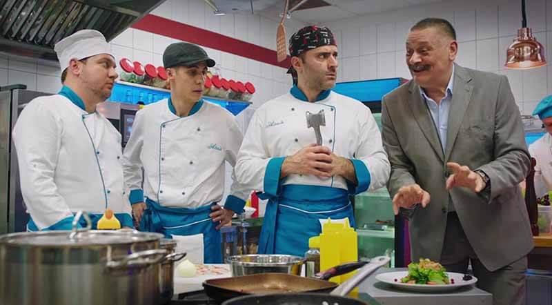 Дата выхода серий на СТС Кухня. Война за отель 3 сезон