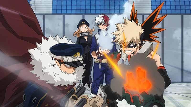 Когда точно выйдет аниме Моя геройская академия 6 сезон