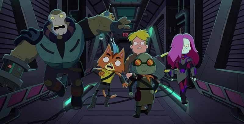 Будет ли выход мультсериала Крайний космос 4 сезон
