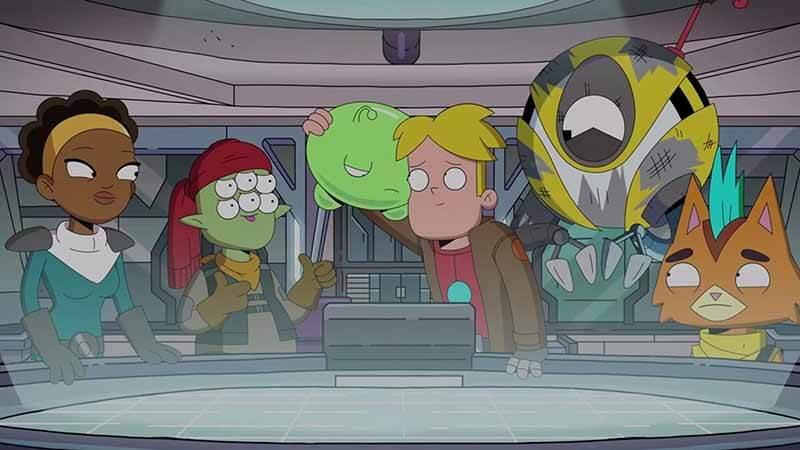 Когда точно выйдет мультсериал Крайний космос 4 сезон