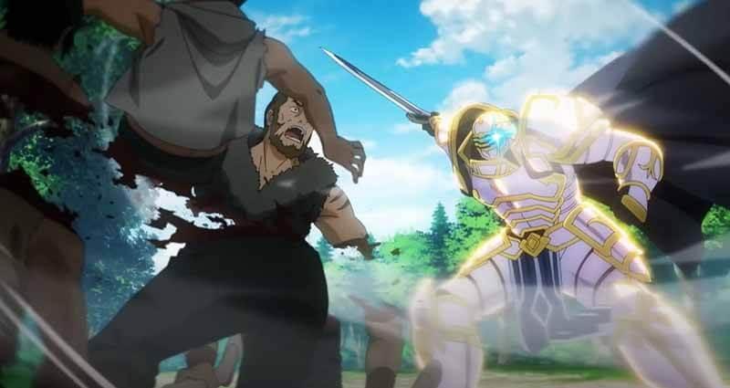 Будет ли выход аниме Рыцарь-скелет вступает в параллельный мир