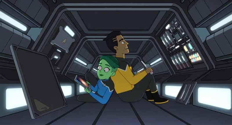 Будет ли выход мультсериал Звездный путь: Нижние палубы 2 сезон