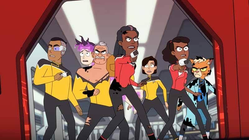 Когда точно выйдет мультсериал Звездный путь: Нижние палубы 2 сезон