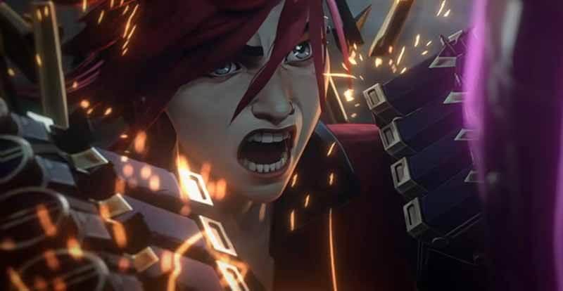 Дата выхода серий в 2021 сериала Arcane League of Legends
