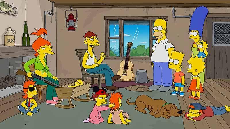 Дата выхода всех серий в России 34 сезона Симпсоны